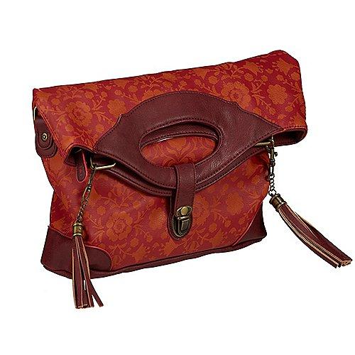 Blutsgeschwister Orient Express Tea Time Bag Handtasche 27 cm - red autumn