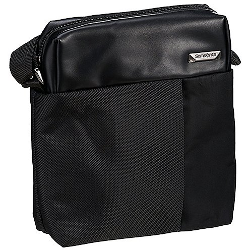 Samsonite Hip Tech Tablet Crossover Schultertasche 25 cm black