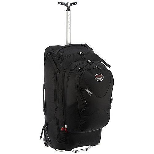 Guhrow Angebote Osprey Reisen Ozone 75 Rollreisetasche mit abnehmbarem Rucksack 72 cm - black
