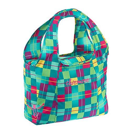 Chiemsee Sports & Travel Bags Beachbag 45 cm - karo blue cabaret