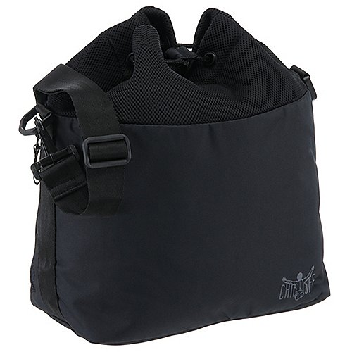 Chiemsee Airmesh Drawstring Bag Umhängetasche 32 cm black