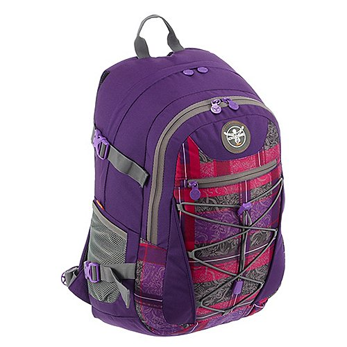 Chiemsee Sports Travel Bags Herkules Backpack Laptoprucksack 49 cm check barberry