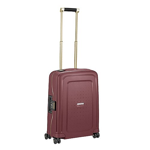 Samsonite S Cure DLX 4-Rollen-Trolley 55 cm - burgundy-gold deluscious