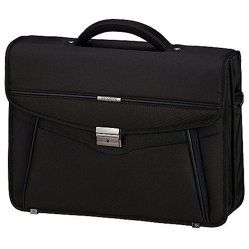 Samsonite Desklite Aktentasche mit Laptopfach 42 cm - black