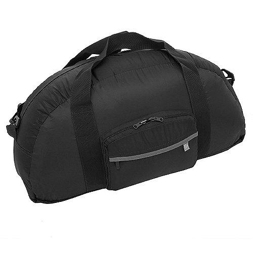 Design Go Reisezubehör Travel Bag faltbare Reisetasche 58 cm schwarz