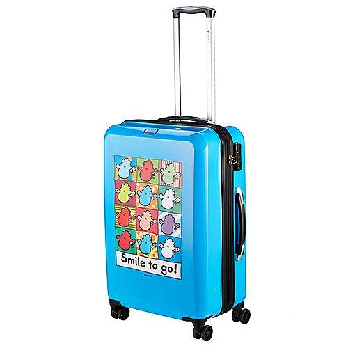 Groß Oßnig Angebote Check In Sheepworld 4-Rollen-Trolley 69 cm - blau