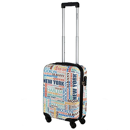 Check In New York 4-Rollen-Kabinentrolley 55 cm - bunt Sale Angebote Proschim