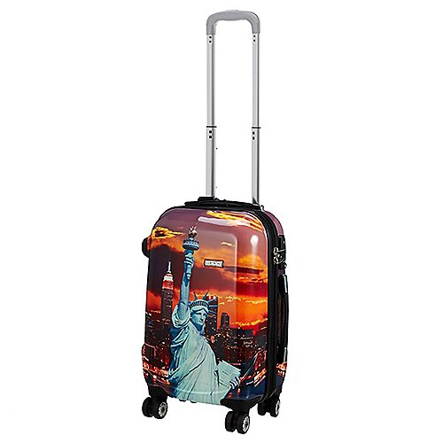 Reuthen Angebote Claymore Octopush 360 4-Rollen-Kabinentrolley 49 cm - Classic New York