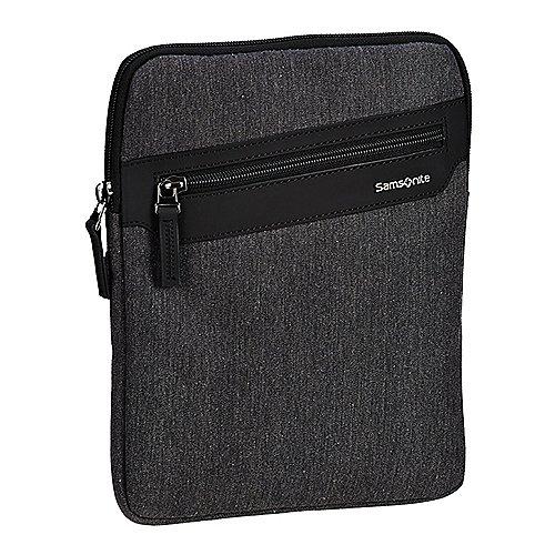 Samsonite Hip Style 2 Flat Tablet Crossover Schultertasche 26 cm anthracite