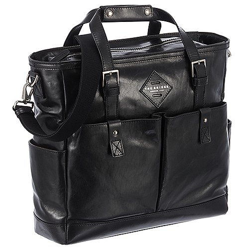 The Bridge Patch Luxe Shopper mit Laptopfach 37 cm Produktbild