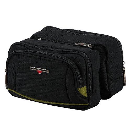 Hardware O-Zone Double Travel Kit Kulturbeutel 25 cm - black/green