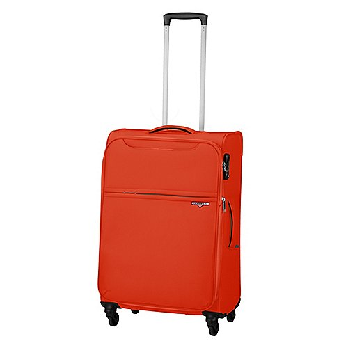 Hardware XLIGHT 4-Rollen-Trolley 69 cm - mandarine