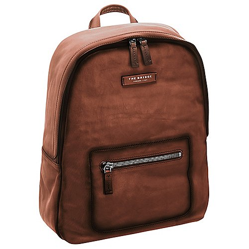 The Bridge Freestyle Rucksack 41 cm - cognac