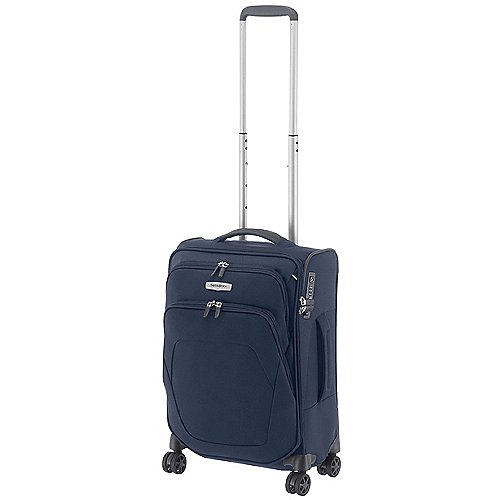 Samsonite Spark SNG 4-Rollen-Bordtrolley 55 cm - blue