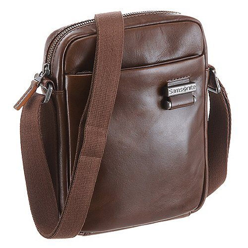 Samsonite West Harbor Crossover Schultertasche 22 cm brown