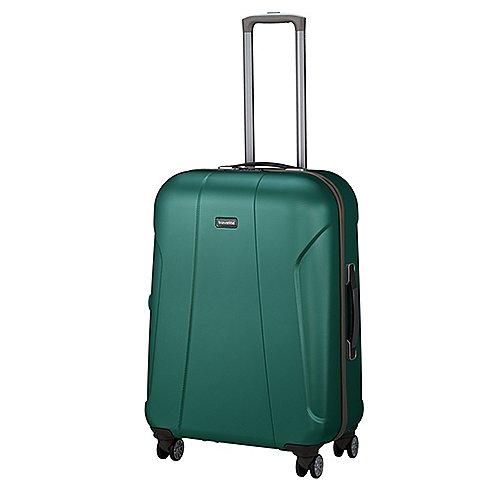 Travelite Elbe Two 4-Rollen-Trolley 70 cm - grün Sale Angebote Hosena