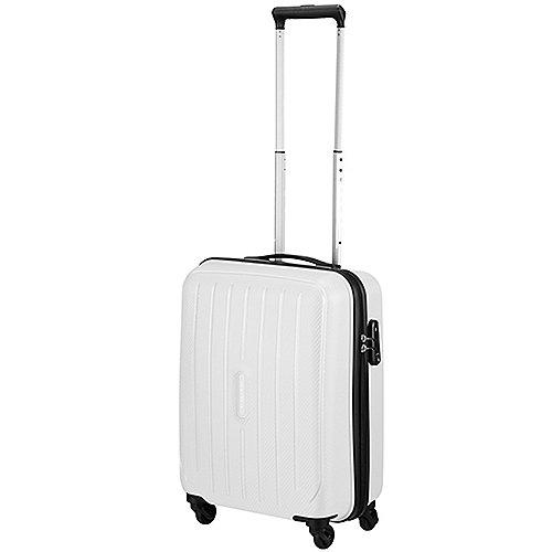 Travelite Uptown 4-Rollen-Kabinentrolley 55 cm - weiss