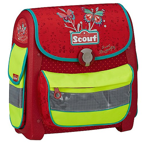 Laubsdorf Angebote Scout Buddy Limited Edition Schulranzenset 4-tlg. - Sweet Butterfly