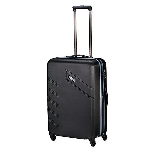 Travelite Tourer II 4-Rollen-Trolley 68 cm - schwarz
