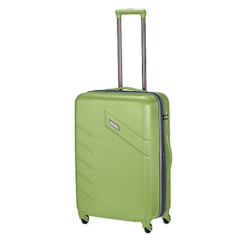 Travelite Tourer II 4-Rollen-Trolley 68 cm - hellgrün