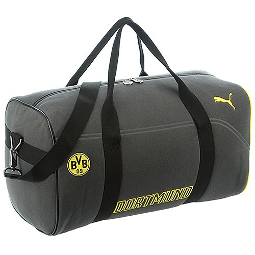 sporttaschen auf rechnung bestellen puma bvb evopower barrel bag sporttasche 49 cm ebony cyber. Black Bedroom Furniture Sets. Home Design Ideas