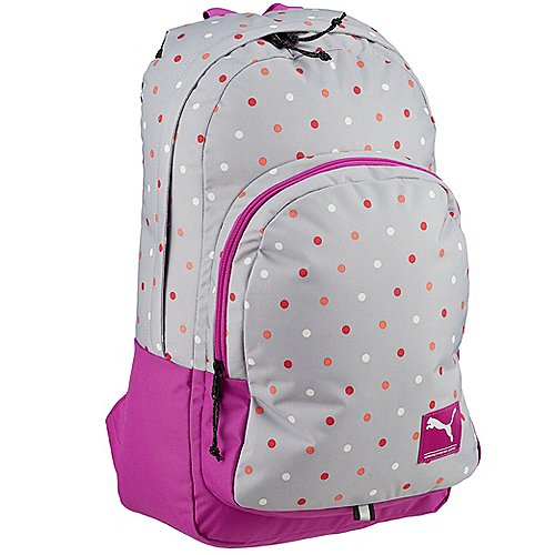 Puma Academy Backpack Laptoprucksack 50 cm glacier gray polka dot