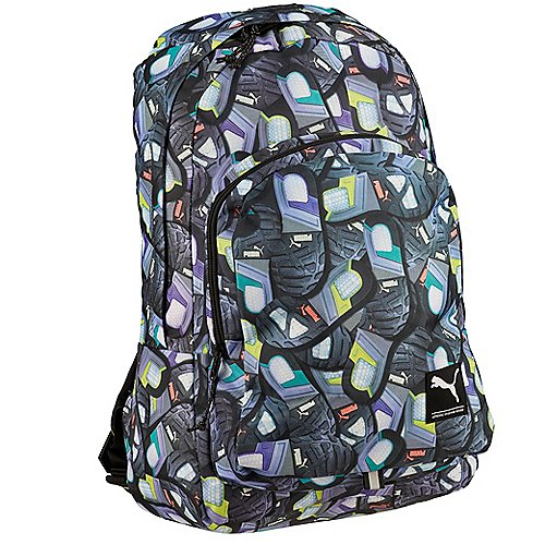 Puma Academy Backpack Laptoprucksack 50 cm dark shadow outsole print