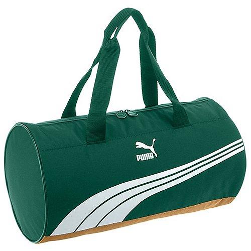 Puma Sole Barrel Bag Sporttasche 47 cm posy green pantone color