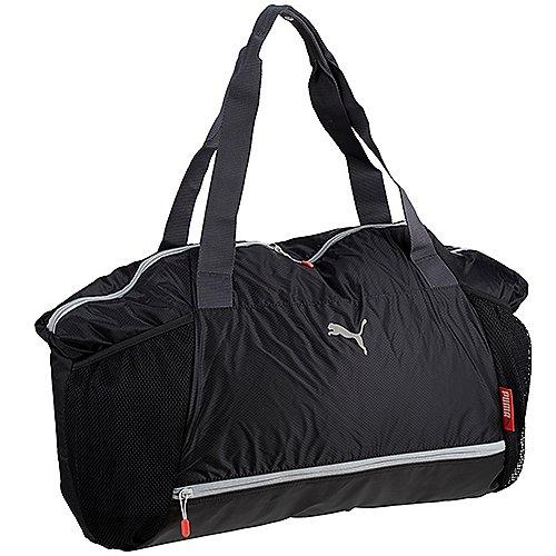 Puma Sports Fit AT Workout Bag Sporttasche 50 cm black periscope cayenne