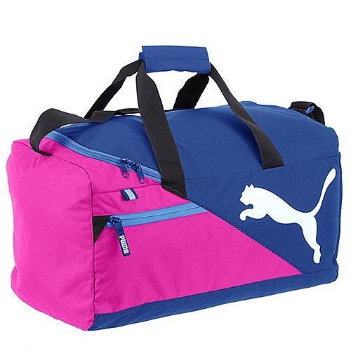 Puma Fundamentals Sports Bag Sporttasche 45 cm rose violet true blue