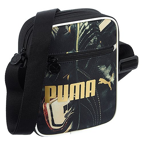 Puma Ftpa Campus Portable Umhängetasche 21 cm black football graphic