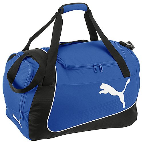 Puma evoPOWER Medium Bag Sporttasche 50 cm power blue black white