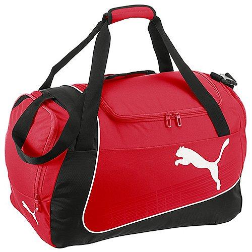 Puma evoPOWER Medium Bag Sporttasche 50 cm red black white