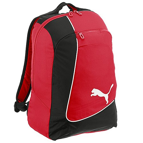 Puma evoPOWER Football Backpack Rucksack 48 cm - red-black-white