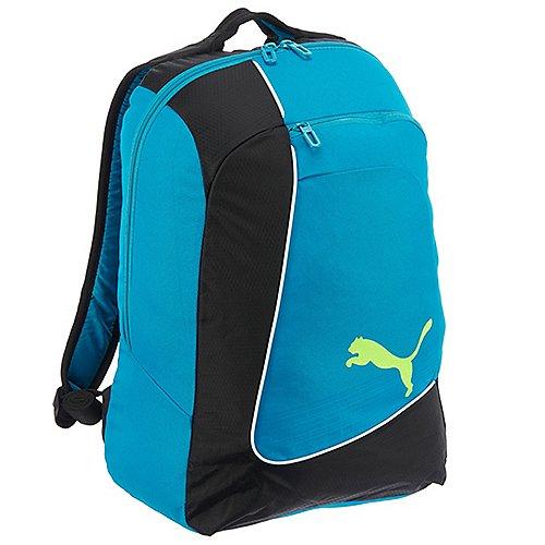 Werben Angebote Puma evoPOWER Football Backpack Rucksack 48 cm - black-atomic blue-safety yellow