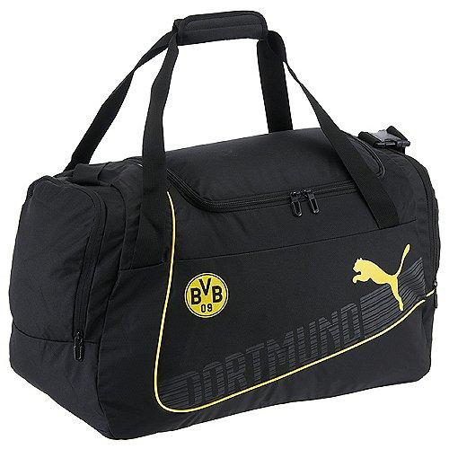 Puma BVB evoPower Medium Sporttasche 51 cm cyber yellow black