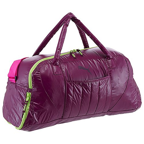 Puma Fit AT Sporttasche 50 cm magenta purple sharp green pink