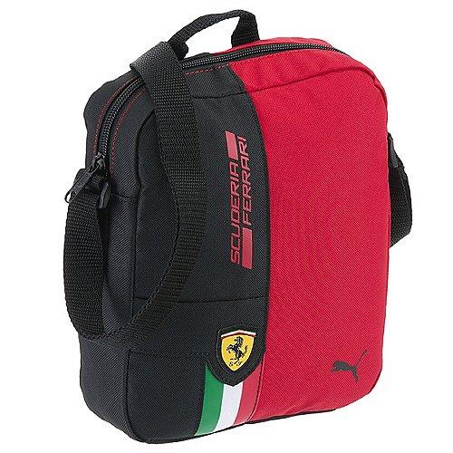 Puma Ferrari Fanwear Portable Schultertasche 23 cm rosso corsa black