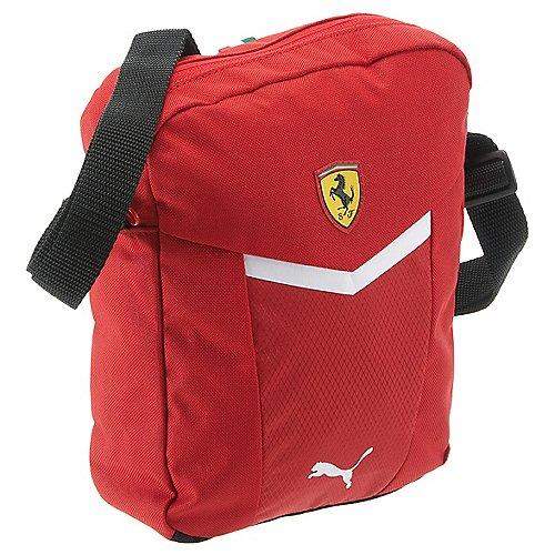 Puma Ferrari Fanwear Portable Umhängetasche 23 cm rosso corsa puma black