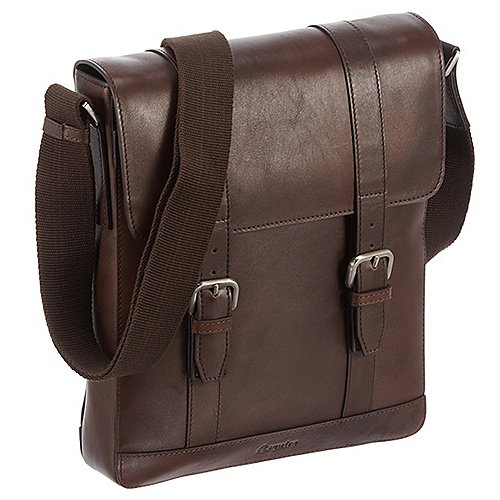 Esquire Vienna Bags Umhängetasche 29 cm - mocca
