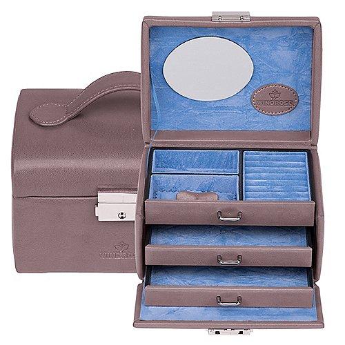 Windrose Merino kleiner Schmuckkoffer 15 cm Produktbild