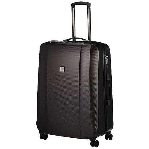 Titan Xenon Deluxe 4-Rollen-Trolley 67 cm - brown