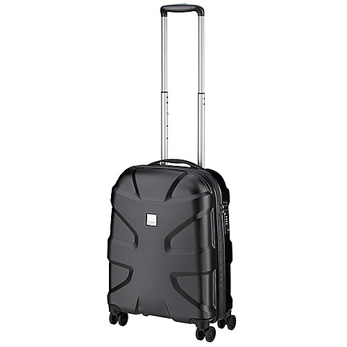 Titan X2 Shark Skin 4-Rollen-Bordtrolley 55 cm - black shark