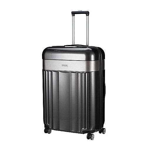 Titan Spotlight Flash 4-Rollen Trolley 76 cm - anthracite