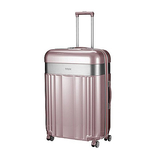 Titan Spotlight Flash 4-Rollen Trolley 76 cm - wild rose