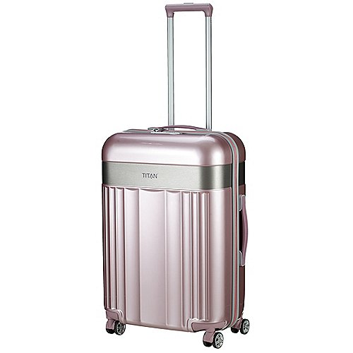 Titan Spotlight Flash 4-Rollen-Trolley 67 cm - wild rose