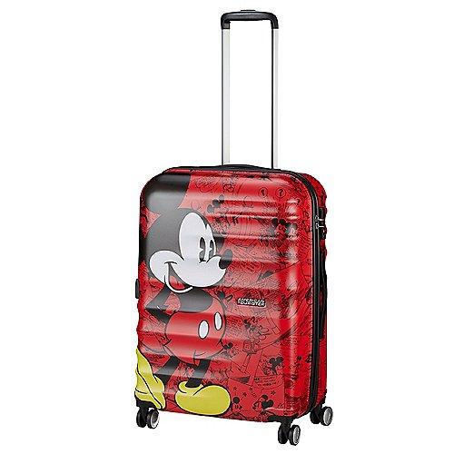 American Tourister Wavebreaker Disney 4-Rollen-Trolley 67 cm - mickey comics red