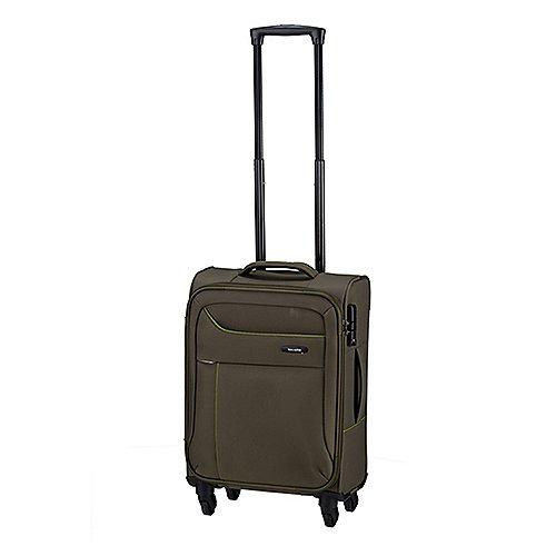 Travelite Solaris 4-Rollen-Kabinentrolley 54 cm - oliv-limone