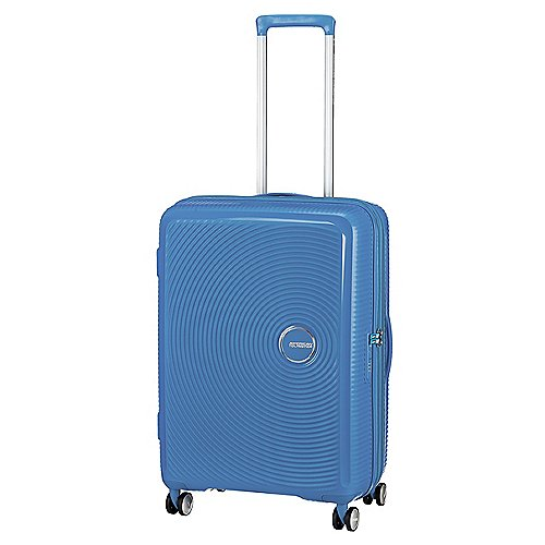 American Tourister Soundbox 4-Rollen-Trolley 67 cm - denim blue