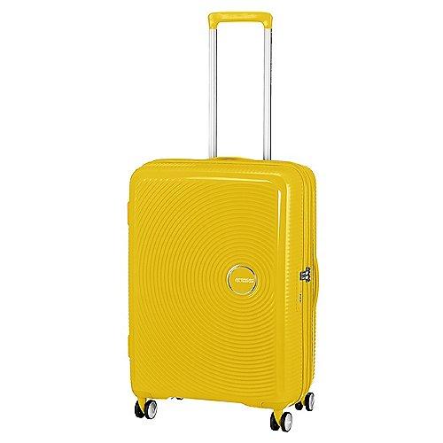 American Tourister Soundbox 4-Rollen-Trolley 67 cm - golden yellow